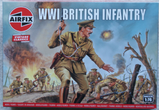 Airfix 1/72 AX00727V British Infantry (WW1)